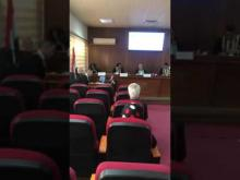 Embedded thumbnail for الدكتور غالب الدعمي عضو في لجنة مناقشة في كلية الإعلام - جامعة بغداد