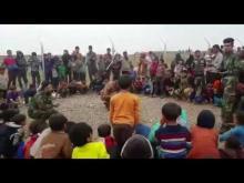 Embedded thumbnail for طلبة جامعة اهل البيت عليهم السلام اثناء تقديم المساعدات الى مخيمات النازحين