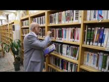 Embedded thumbnail for قناة كربلاء الفضائية تعرض السيرة الذاتية لرئيس جامعة اهل البيت عليهم السلام